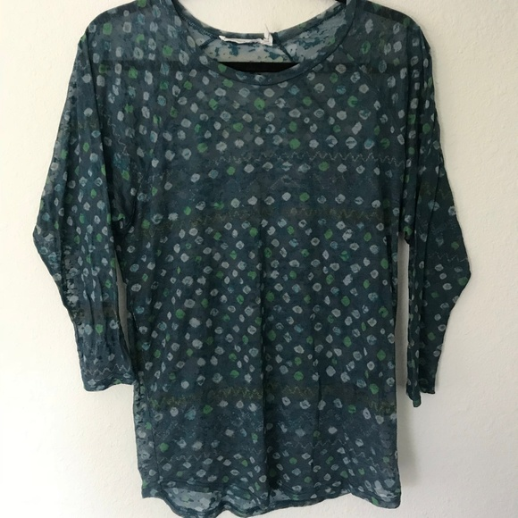 3cb4bceccc Isabel Marant Tops - Isabel Marant Etoile Sheer Blouse Size Medium